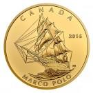 Zlatá uncová mince Marco Polo