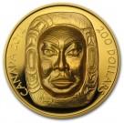 Matriarchální měsíční maska 2014 Proof 1/1 Oz Au