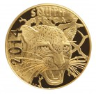 Natura Leopard 2014 Proof 1/1 Oz Au
