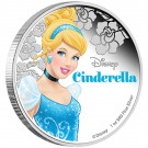 Disney - princezna Cinderella 2015 1 Oz Ag Proof