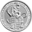 The Queen's Beasts The Lion 2 Oz Ag