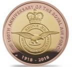 Odznak RAF 2018 1/2 Oz Au