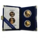 American Eagle sada 2 mincí Proof 75 USD Au 1987