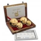 Krugerrand-sada 4 mincí Proof 1,85 Oz Au 2004