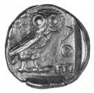 Athénská sova Tetradrachma Ag