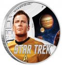 Stříbrná mince Star Trek Kapitán Kirk 1 oz proof 2019