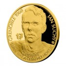 Zlatá mince Legendy čs. hokeje Jan Suchý 1/4 oz proof 2018