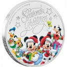 Disney - Vánoce 2017 1/2 Oz Proof Ag