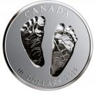 Stříbrná mince Vítej na světě 1/2 oz reverse proof 2019