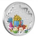 Stříbrná mince k narozeninám 1 oz 2018