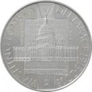 stříbrná mince Washingtonská deklarace proof 2018