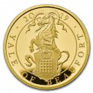 Zlatá mince The Queen's Beasts Yale of Beaufort 1 oz proof