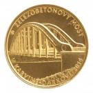 Železobetonový most v Karviné - Darkově bk 1/2 Oz Au
