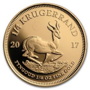 50. výročí Krugerrand 1/4 oz Proof Au