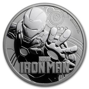 Iron Man 2018 1 Oz Ag