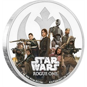 Star Wars: Rogue One - Rebellion Proof 1 Oz Ag