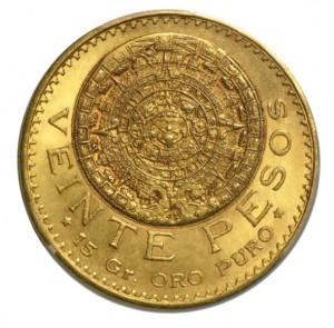 Aztécký kalendář - Kámen Slunce 16,666 g Au