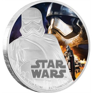 Star Wars - Captain Phasma 2016 1 Oz Ag Proof