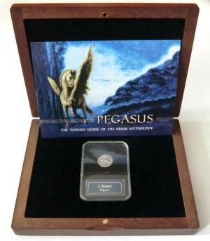 Statér s Pegasem (345-300 př. n. l.) Ag