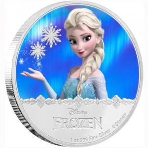 Frozen Elsa 2016 1 Oz Ag Proof