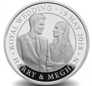 Královská svatba Harry & Meghan 2018 28,2g Ag