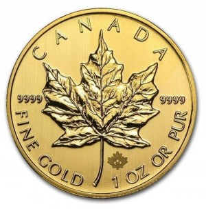 Maple Leaf 1/1 Oz Au
