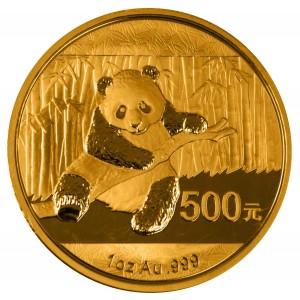 Čínská Panda 1/1 Oz Au