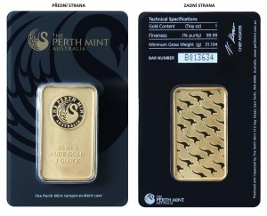 Perth Mint 1/1 Oz Au