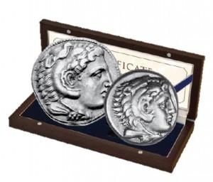 Sada Alexandr Veliký (drachma+tetradrachma)