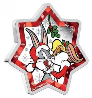 Vánoční hvězda Looney Tunes 2018 1 Oz Ag Proof