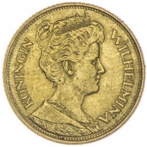 5 Gulden Wilhelmina I.
