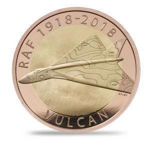 Vulcan RAF 2018 1/2 Oz Au